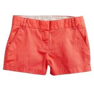 J. Crew Shorts Broken In Chino Orange 4